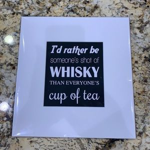 ♧I'd rather be someone's shot of whiskey than pr